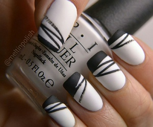 nails, art, and white image