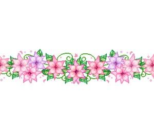 flowers, kawaii, and pale image