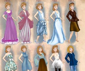 cinderella, disney, and fashion image