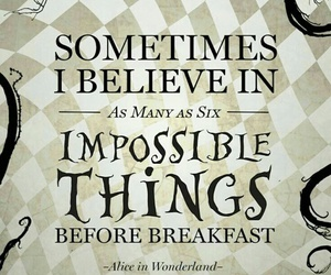 alice in wonderland, disney, and quotes image