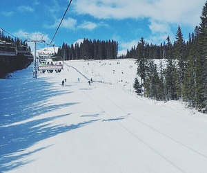 downhill, Skiing, and trysil image