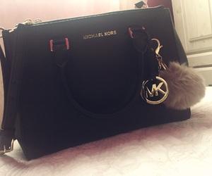 bag, black, and girly image