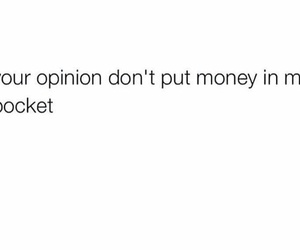 money and opinion image