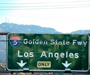 california, city, and interstate image
