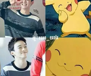 kpop, Chen, and exo image