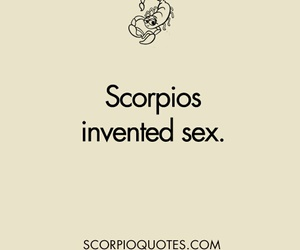 scorpio, sex, and signs image