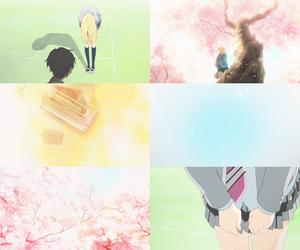 anime, kaori miyazono, and your lie in april image