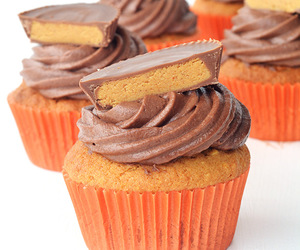 cupcake and peanut butter image