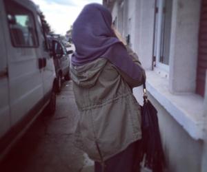 girl, islam, and muslim image