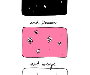 stars, flowers, and magic image