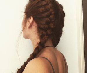 beautiful, braiding, and colors image