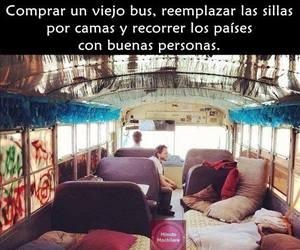 bus, runaway, and travel image