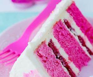 cake and pink image