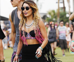 coachella, vanessa hudgens, and celebrity image