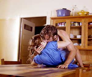 kissing, the notebook, and allie and noah image