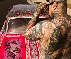 cholo, lowrider, and Tattoos image