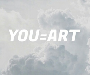 art, you, and quote image