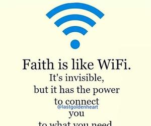 connect, faith, and god image