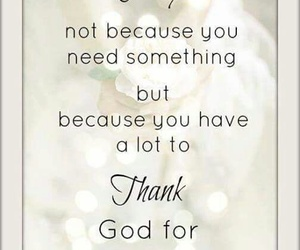 allah, thanks, and pray image