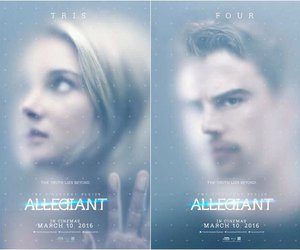 divergent, allegiant, and Shailene Woodley image