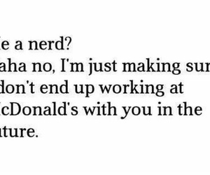 end, nerd, and sorry image