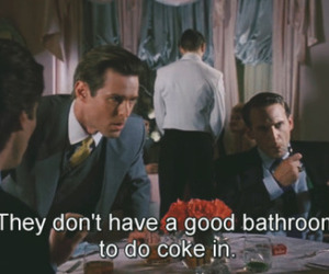 movie, american psycho, and coke image