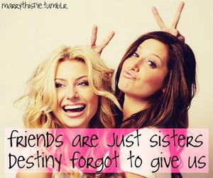 girls, sisters, and friends image