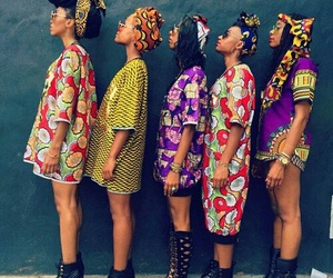 fashion, girl, and African image
