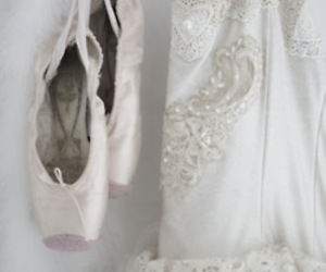 ballet, white, and ballerina image