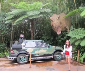 dinosaur, florida, and fun image