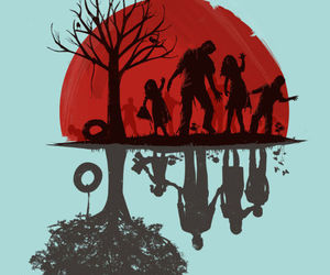 zombie and zombies image