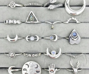rings, witchcraft, and magic image