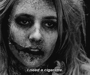 ahs, american horror story, and cigarette image