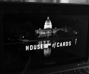 b&w, house of cards, and tv series image