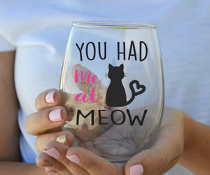 cat, etsy, and meow image