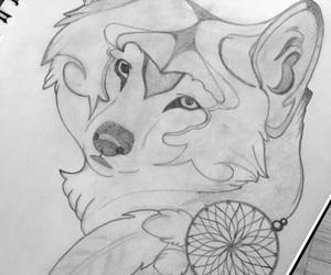 art, draw, and b&w image