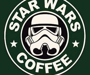 star wars and coffee image