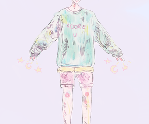 kpop and pastel image