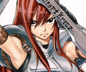 fairy tail, anime, and erza scarlet image