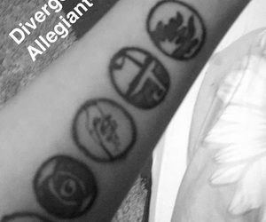 four, divergent, and factions image