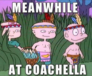 coachella, funny, and rugrats image