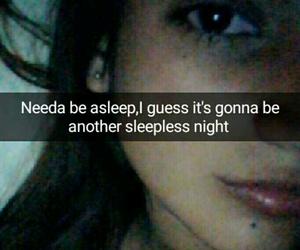 sleepless night image