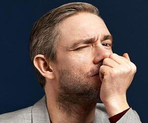 fashion, Martin Freeman, and mens fashion image