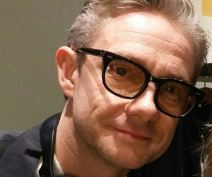Martin Freeman and dj martin image