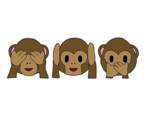 monkey, emoji, and overlay image
