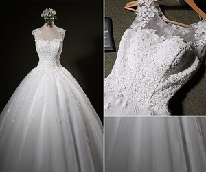 2016, ball gown, and bridal image