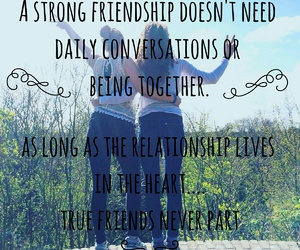 quote, bff, and friendship image