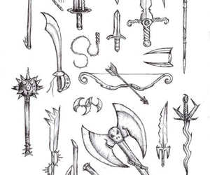 weapon and draw image