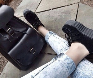 grunge, creepers, and fashion image