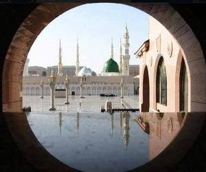 arab, madina, and islam. image